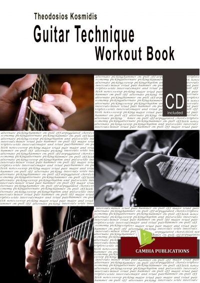 Guitar Technique Workout Book - Theodosios Kosmidis E-BOOK