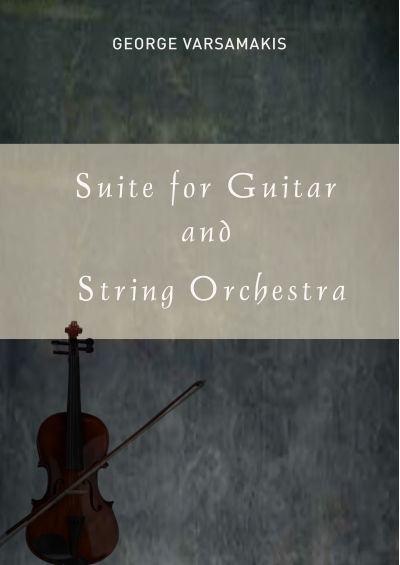 Suite for Guitar and String Orchestra - George Varsamakis e-book