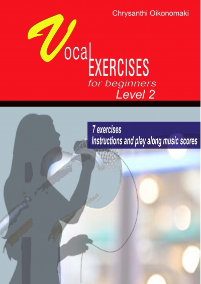 Vocal Exercises for Beginners Pack II -Chrysanthi Ekonomaki e-book