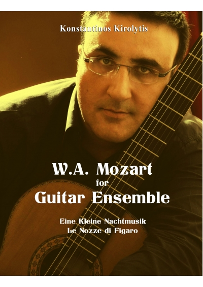 W.A. Mozart for Guitar Ensemble- Konstantinos Kirolytis e-book